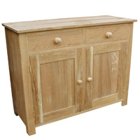 Lacquered oak sideboard
